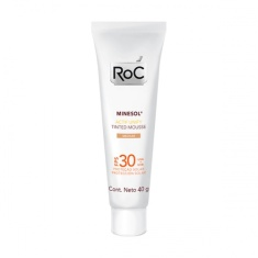 Protetor Solar Roc Minesol Actif Unify Tinted Mousse Medium 40g